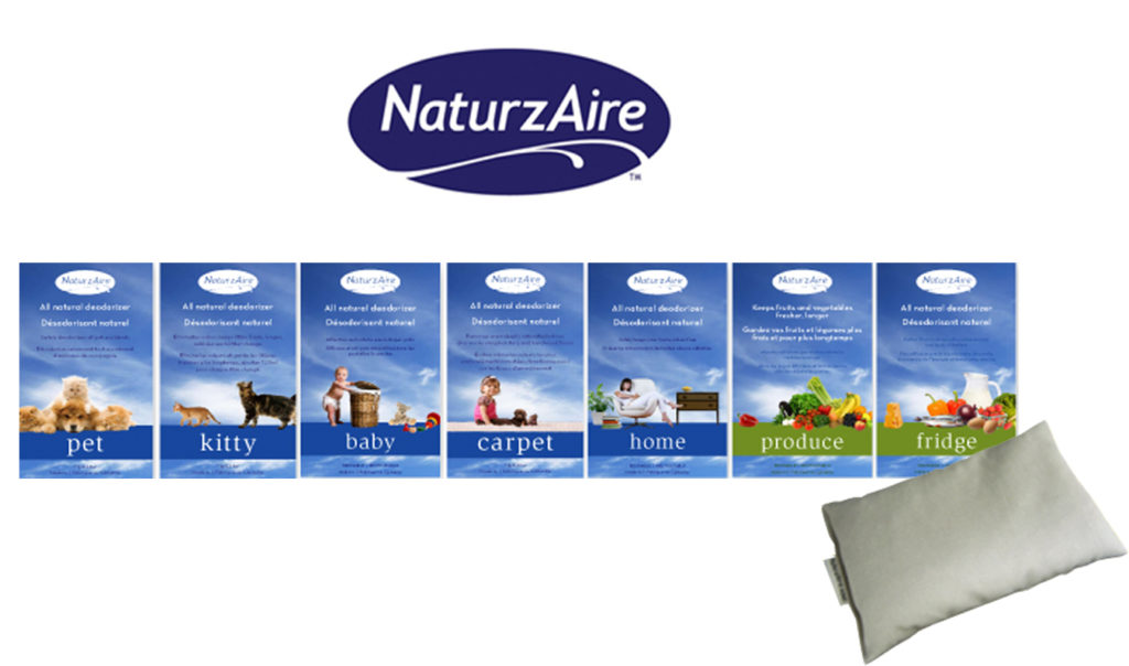NATURZAIRE LOGO AND PRODUCTS_